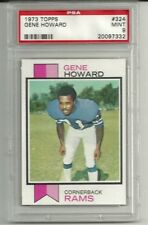 1973 Topps #324 GENE HOWARD PSA 9 Los Angeles Rams
