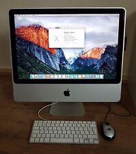 """Apple iMac (20"""", mediados de 2009) 4GB/Core 2 Duo 2.0GHz/160GB HDD MC015LL/A A1224"""