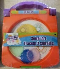 Spiral Art Create Fun Designs Hand Held Art Toy Fun for Kids