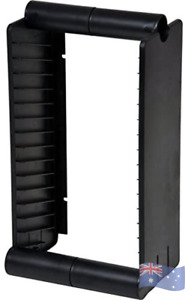 15 Unit Bluray Rack/Stand Blu-Ray for Fit into Audio Cabinets Shelves or on Wall