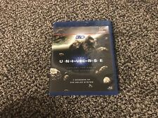 Blu-ray 3D The Universe 7 Wonders of the Solar System w/ Unused Glasses Like New