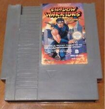 Shadow Warriors Ninja Gaiden Nintendo NES PAL España