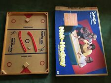 "Standard True Size Carrom Nok Hockey Game Model #2 35""x24""' Wood MINT IN BOX"