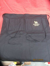 "Singha Lager/Beer Embroidered Long Two Pocket apron ""LION OF ASIA"" pub/bar/manca"