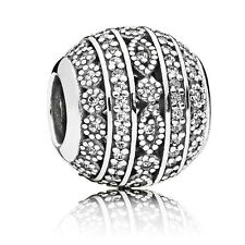 Original PANDORA Element Silber Bead 796243CZ Funkelnde Formen