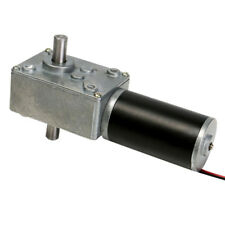 12V 160rpm Reduction Motor Worm Gear Double Shaft DC Motor Cear-box Motor
