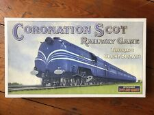 Coronation Scot Railway Train Vintage Style Traditional Board Game Complete