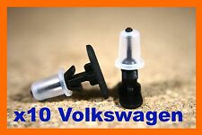For Volkswagen VW 10 door seal cover weather strip retainer fastener clips