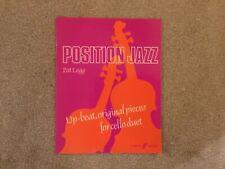 Position Jazz (cello duets) 0571511449 Cello Music Faber Music
