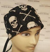BONES AND SKULLS   / MEN'S  SCRUB CAP/SURGICAL HAT