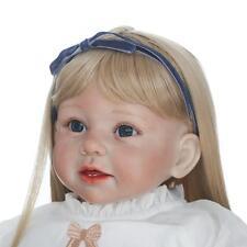 "Handmade 28""  Vinyl Silicone Reborn Baby Dolls Lifelike Dolls Arianna Girl Gift"