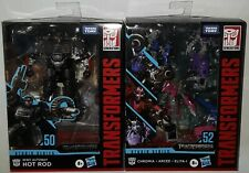 Transformers Studio Series 50 52 Hot Rod Chromia Arcee Elita-1 lot set unopened