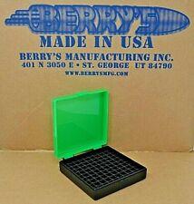 9 mm / 380 - 100 round ammo case / box (Zombie / Black) Berrys 9 mm Brand New