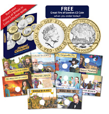 A History of Britain in Coins Collecting Kit with Album [Ref: 361K]