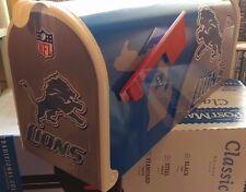 DETROIT LIONS  CUSTOM MAiLBOX~jersey hats