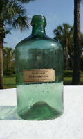 1840'S OPEN PONTIL, FREE BLOWN, ANTIQUE APOTHECARY BOTTLE! 170 YEARS OLD! SUPER!