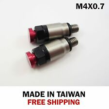 Fork Bleeder Relief Valve, M4 x 0.7, Red Button + Free shipping