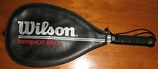 Wilson Racquetball Racquet Tempest Plus Leather Grip Hr Co85 Zippered Cover