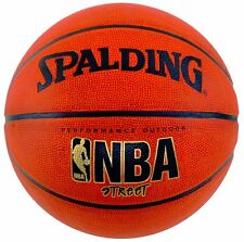 """New Professional Leather Spalding NBA Street Basketball - Official Size 7 29.5"""""""