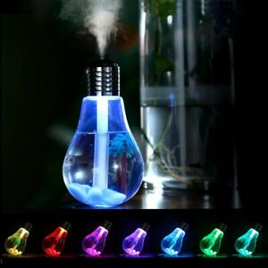 Diffuser Ultrasonic Humidifier Humidifier LED Night Light Aromatherapy Mist