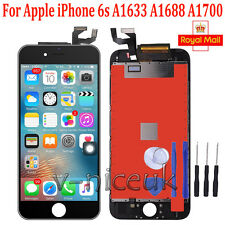 For iPhone 6s A1633 A1688 A1700 Black LCD Touch Digitizer Screen Replacement UK