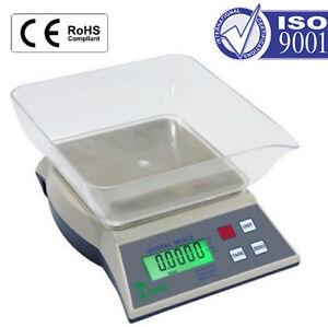 Laboratory Toploader Balance 500g x 0.01g Scale Mass Portable Tare UK