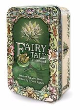 New Fairy Tale Lenormand Tarot Deck Cards TIN 120pg guide Lisa Hunt Arwen Lynch