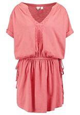 Roxy Lucky Stars Dress Orange Size S LF076 QQ 15