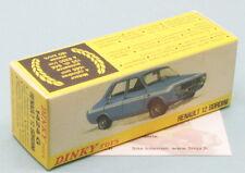 Boite neuve Dinky Toys  RENAULT 12 GORDINI réf: 1424G