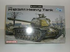Dragon Model 1/35 Scale Black Label US M103A1 Heavy Tank model kit
