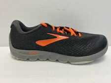 Brooks PureGrit 7 Men's Size 9.5 Medium (D) (Black/Orange/Grey)