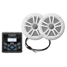 Boss Audio Mckgb450W.6 Marine Package BluetoothIn-Dash Gauge Digital Media