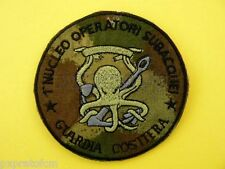 Patch Toppa Marina Militare Guardia Costiera 1° Nucleo Operatori Subacquei BSM