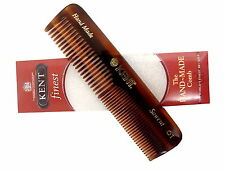 Kent A0t Sawcut Pocket Comb Small Size Hand Made With Wide and Narrow Teeth.