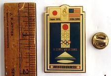 ORIG 1996 ATLANTA 1972 SAPPORO JAPAN OLYMPIC PIN POSTER SERIES XI WINTER GAMES