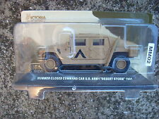 hummer closed command car u.s. army desert storm 1991 SCALA 1/43