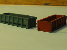 BI-12  RESIN EMPTY ROLLOFF CONTAINER  UNFINISHED  N SCALE