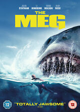 The Meg [2018] (DVD) Jason Statham, Li BingBing, Rainn Wilson, Ruby Rose
