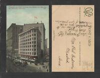 1910 WESTBANK AND FLOOD BUILDINGS MARKET AND ELLIS ST SAN FRANCISCO CAL POSTCARD