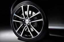 "19"" Nuovo di Zecca originale Aston Martin DB9 ""CARBON BLACK 'forged alloy wheels"