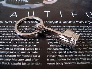 Piston Keychain Keyring