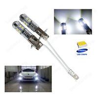 Lot 2 Ampoules H3  10 SMD LED Lampe Anti Brouillard Feux Tuning DRL Blanc