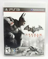 PS3 Batman Arkham City Game 2011 (3D Compatible)