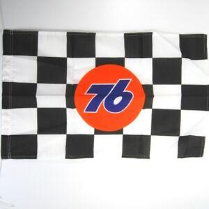 "VTG Union 76 NASCAR Checkered Flag 18"" x 29"""