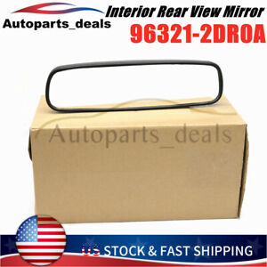 Frontier Interior Rear View Mirror For Nissan Leaf Altima Sentra 96321-2DR0A NEW