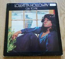 LOLEATTA HOLLOWAY - CRY TO ME LP AA 2008AWARE HOTLANTA SOUND 1975 VG+!