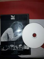 The Who Cow Palace 1973 DVDr Live concert dvd Keith Moon full show San Francisco