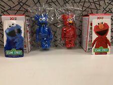 """Bearbrick Series 32 S32 Sesame Street Cute Set """"Elmo+Cookie Monster"""" Be@rbrick"""