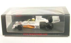 Mclaren M23 No.30 British Gp Formula 1 1973 (Jody Scheckter) 1:43 Spark