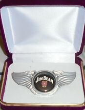 Jim Beam Whiskey Bar Concert Brewery Biker Wing Vest Hat Jacket Pin Badge Pub JB